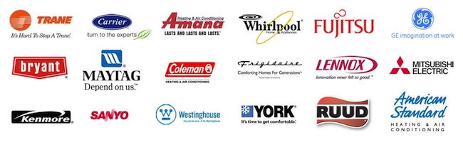 cary-air-conditioning-repair-hvac-logos